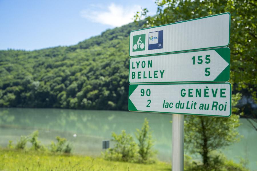 Geneve Lyon a vélo
