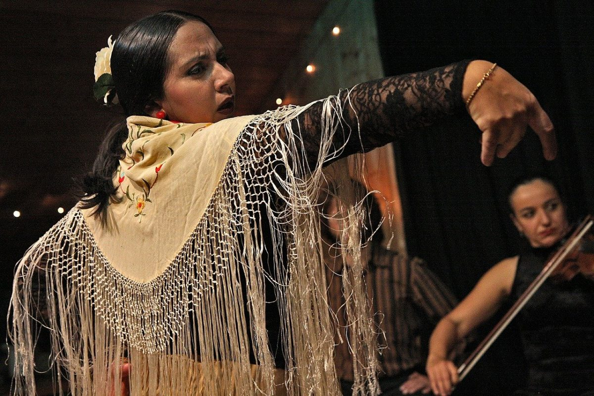 stage flamenco